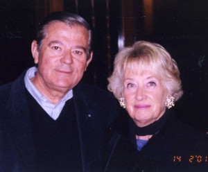 Sheila Barry with Hector Videla