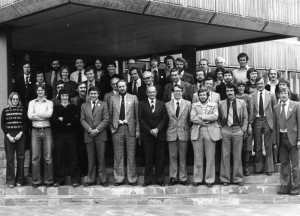Attendees at the Portsmouth Meeting (David Houghton, centre front in dark suit; Gareth Jones, far R front)