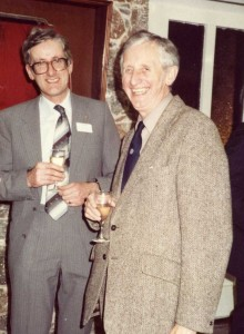 Arthur Lloyd (R) with Barry Richardson