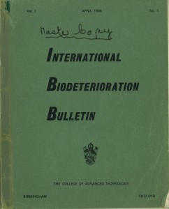 IBB - Proof Copy of First Edition