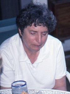 Judy Kinderlerer at the 1999 Symposium in Virginia