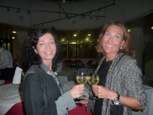 Guadalupe Pinar and Katja Sterflinger, Vienna 2011